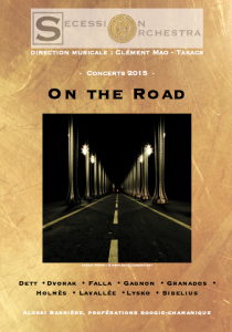 mars 2015 : On the Road